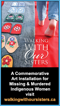 banner for Walking With Our Sisters project